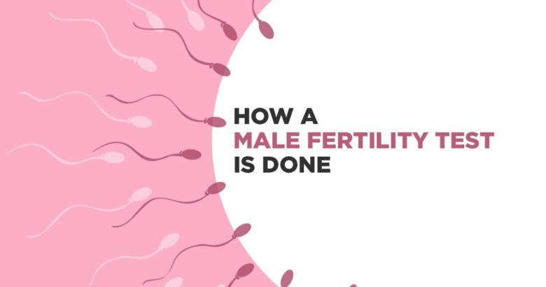 How a Male Fertility Test is Done